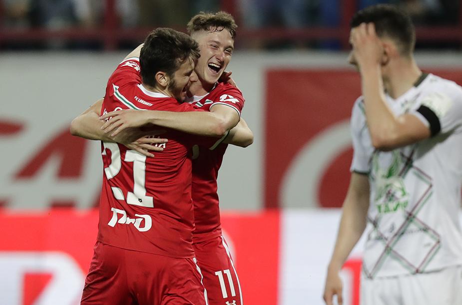 «Локомотив» - «Рубин» - 4:0
