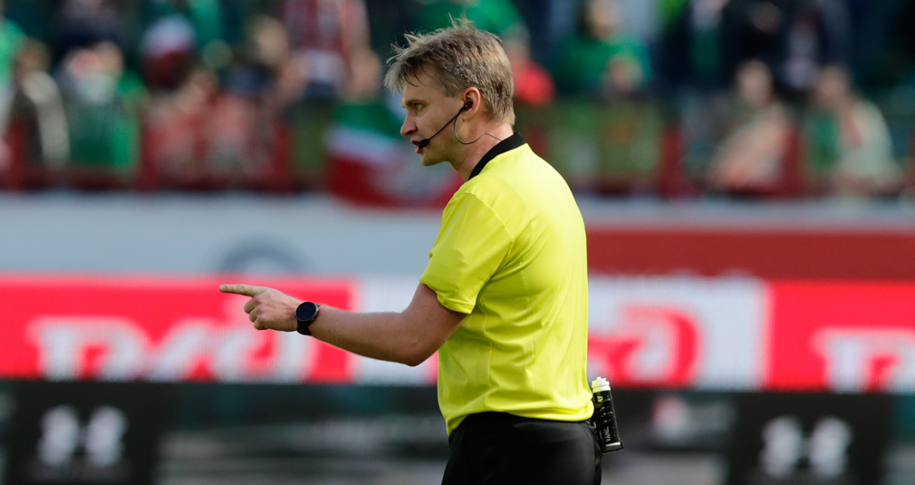 Лапочкин назначен на финал Кубка