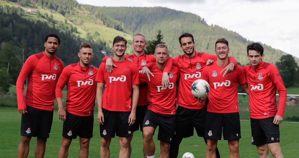 Пополнение в составе команды в Австрии