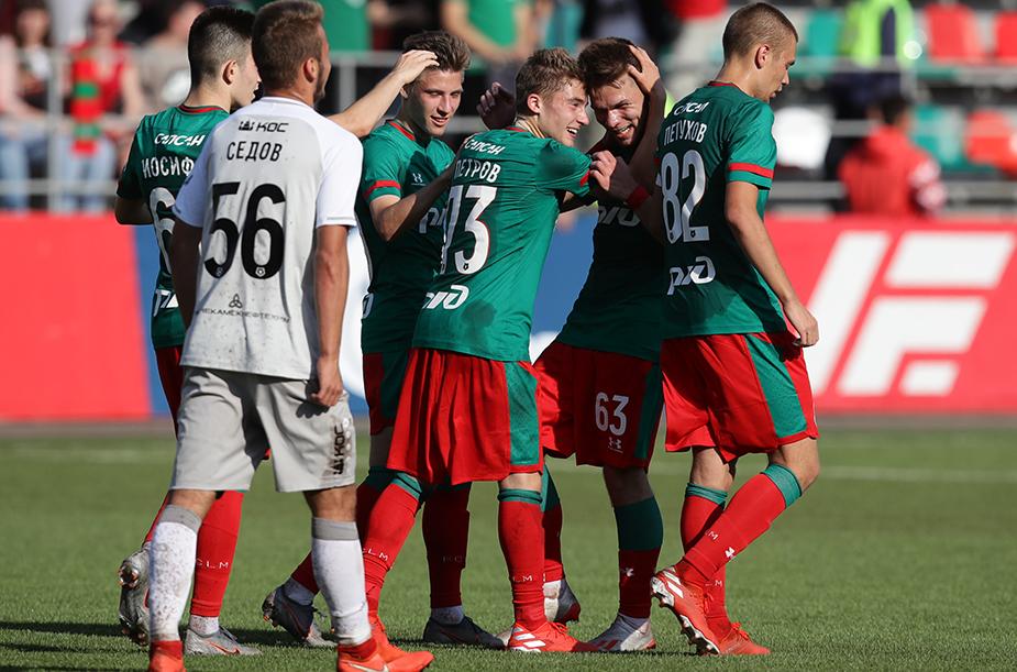 «Локомотив» (мол) - «Рубин» (мол) - 3:0