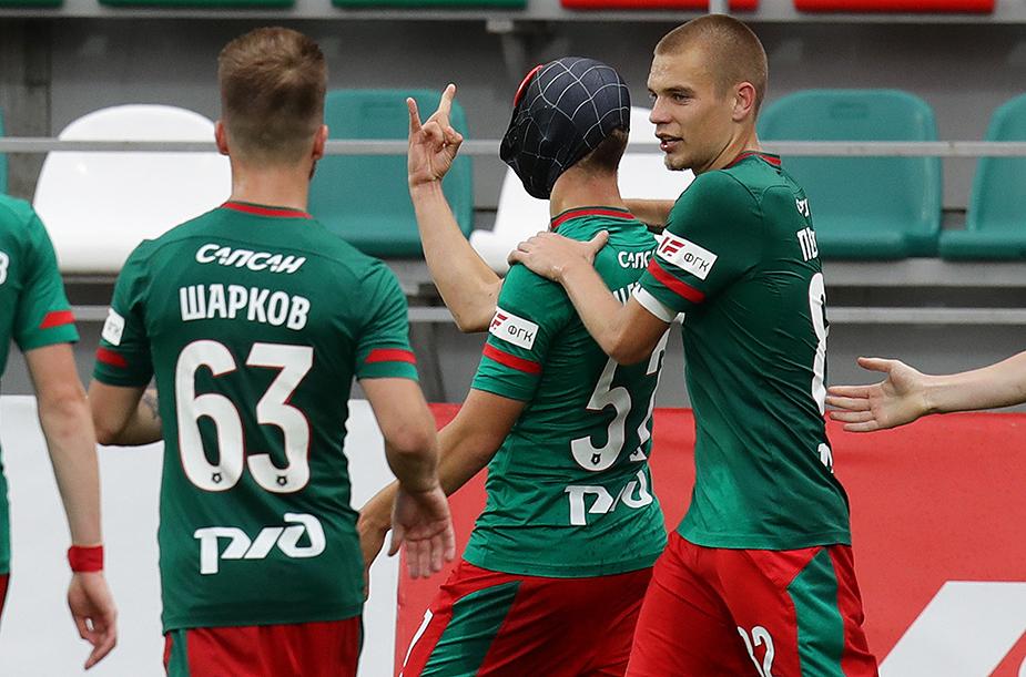 «Локомотив» (мол)  - «Урал» (мол) - 2:0