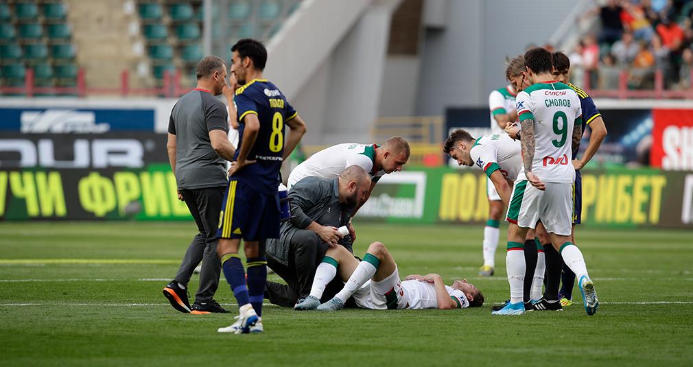 Алексей Миранчук получил мышечную травму