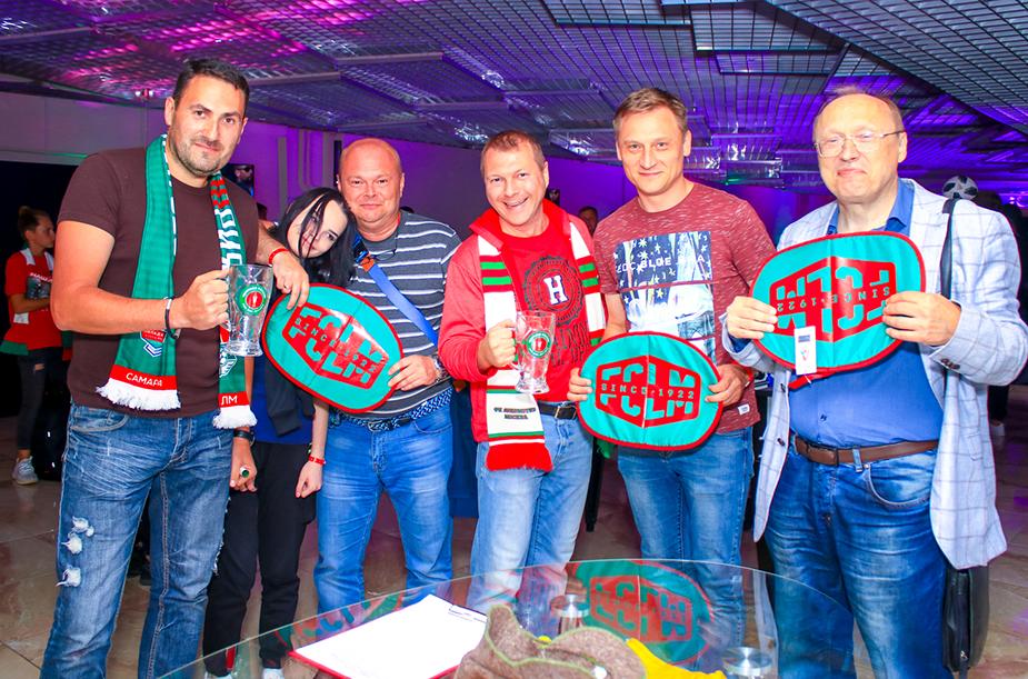 Сектор VIP на матче с «Ростовом»