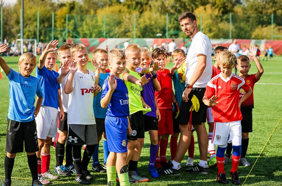 Первый день отбора в Академию «Локомотива»