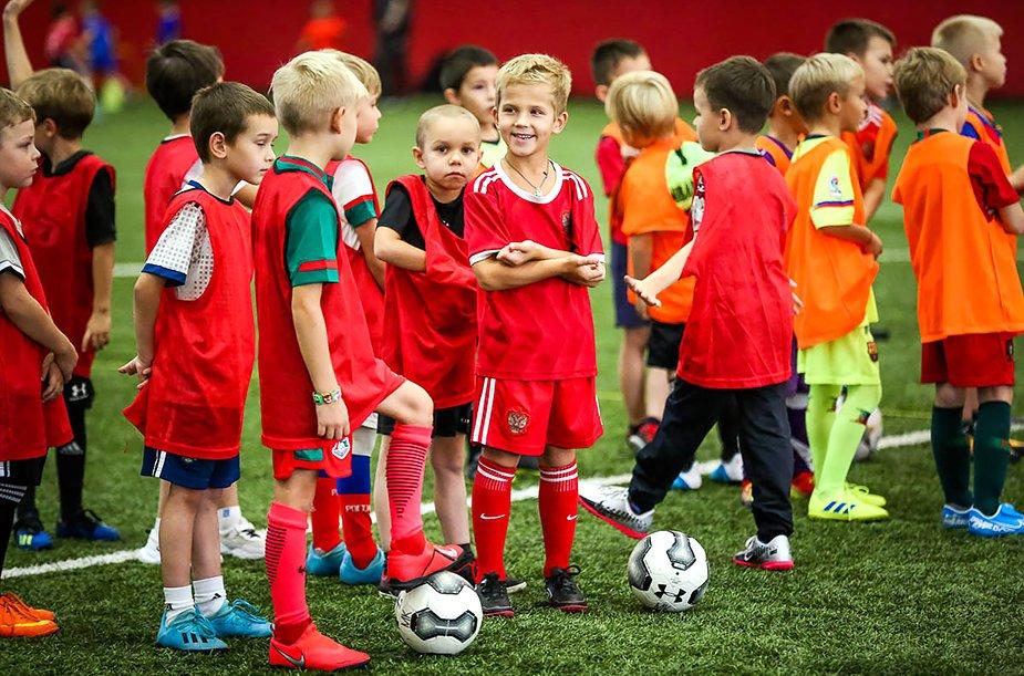 Большой футбольный праздник