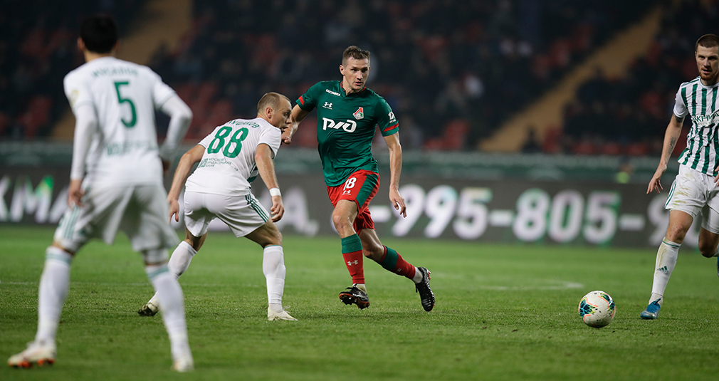 Kolomeytsev: We'll take a look at the  table at the end of  the season