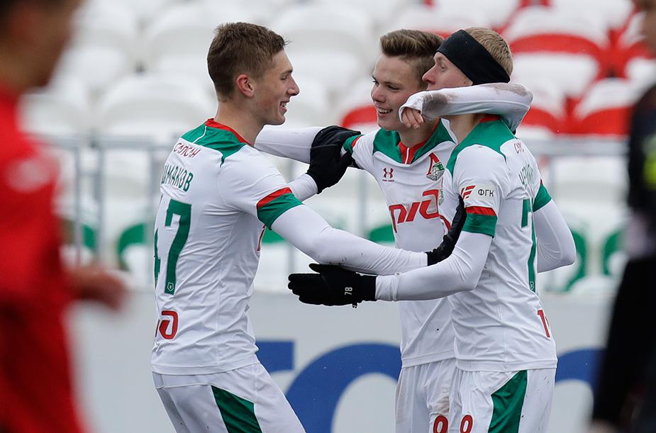 «Уфа» (мол) – «Локомотив» (мол) – 0:4