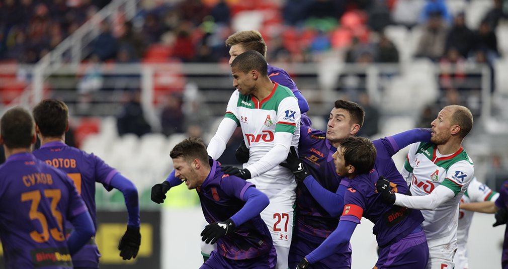 Eder's Goal, Nine  Bookings, And a Penalty. Loko Draw Tie With Ufa