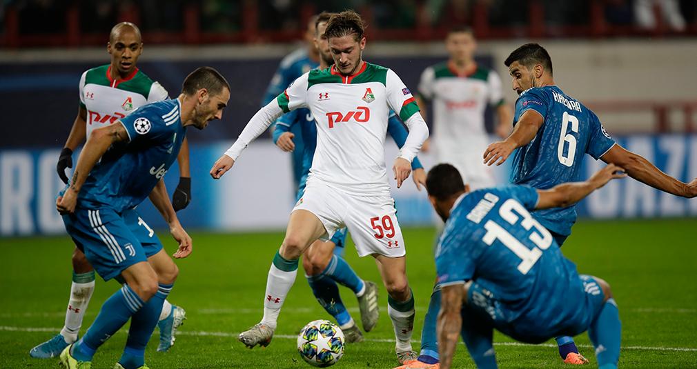 «Локомотив» проиграл «Ювентусу», пропустив на 93-й минуте
