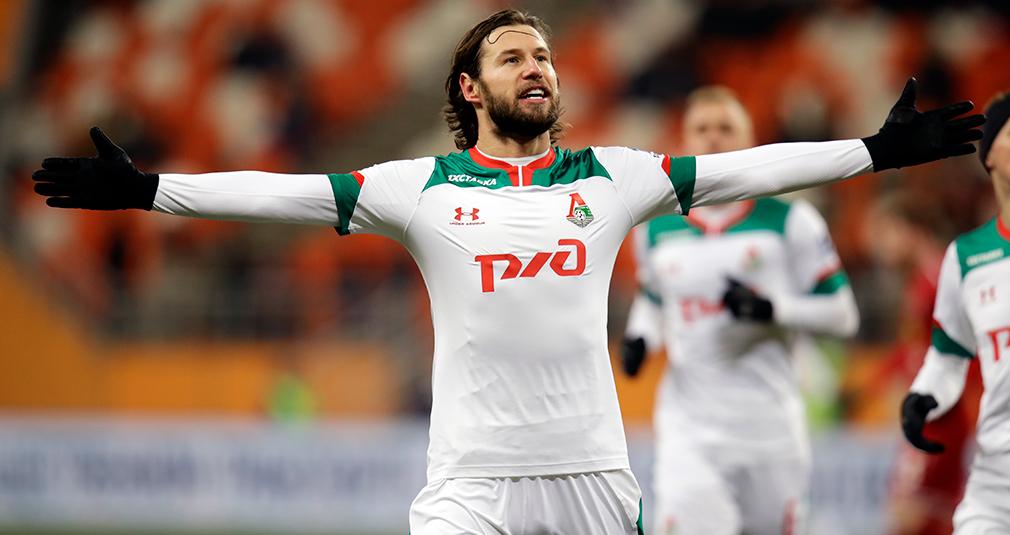 Минус десять, дубль Крыховяка и пять голов в Саранске. «Локомотив» победил «Тамбов»