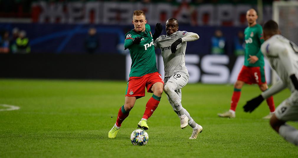 «Локомотив» проиграл «Байеру» и потерял шансы на выход в Лигу Европы
