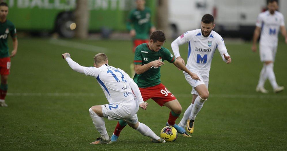 «Локомотив» уступил «Осиеку» на сборе в Испании