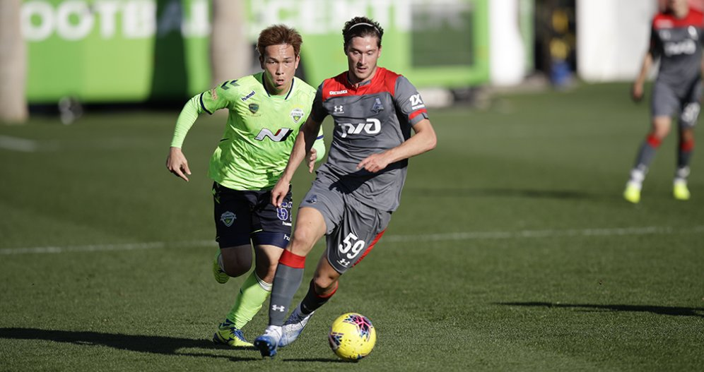 Lokomotiv Closes Training Camp With Game Against Jeonbuk
