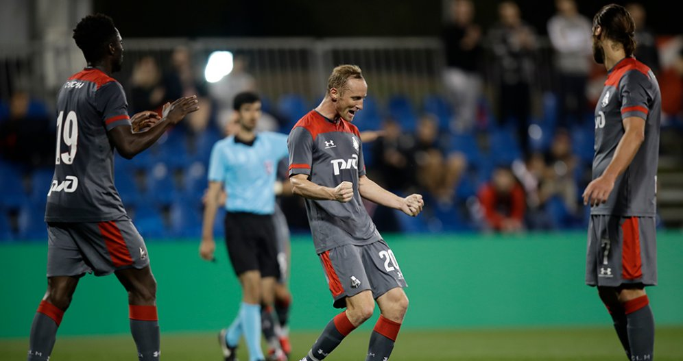 Ignatyev Scores, Medvedev Saves Two  Penalties. Lokomotiv Beats Spartak