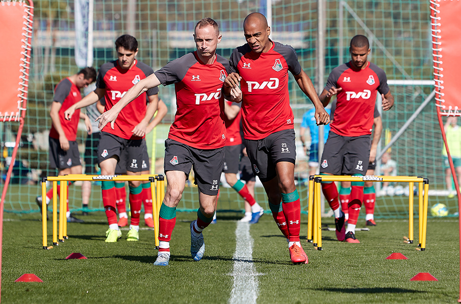 Training camp in Spain