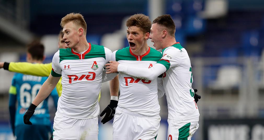 Youth Team Beats Zenit