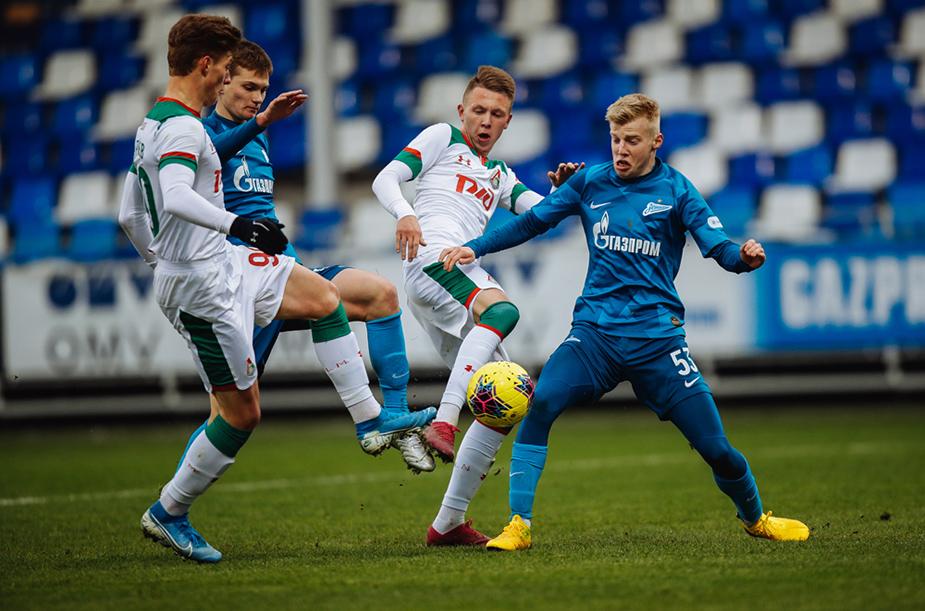 Zenit U-19 - Lokomotiv U-19 - 1:2