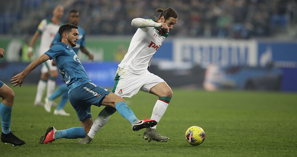 Referee Ejects Syomin, Lokomotiv Draw With Zenit