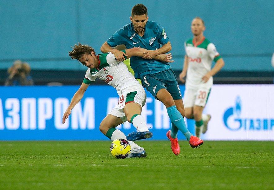 Zenit - Lokomotiv - 0:0
