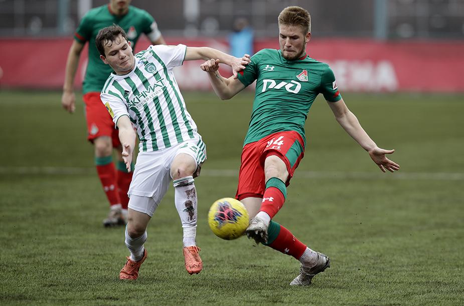 «Локомотив» (мол) – «Ахмат» (мол) – 0:0