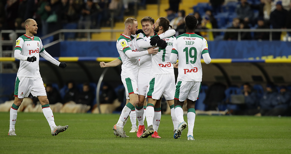Three Goals In Eight  Minutes And Bombshell From Krychowiak. Lokomotiv Beats Rostov