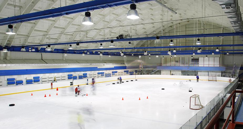 Ледовый дворец приостановил работу