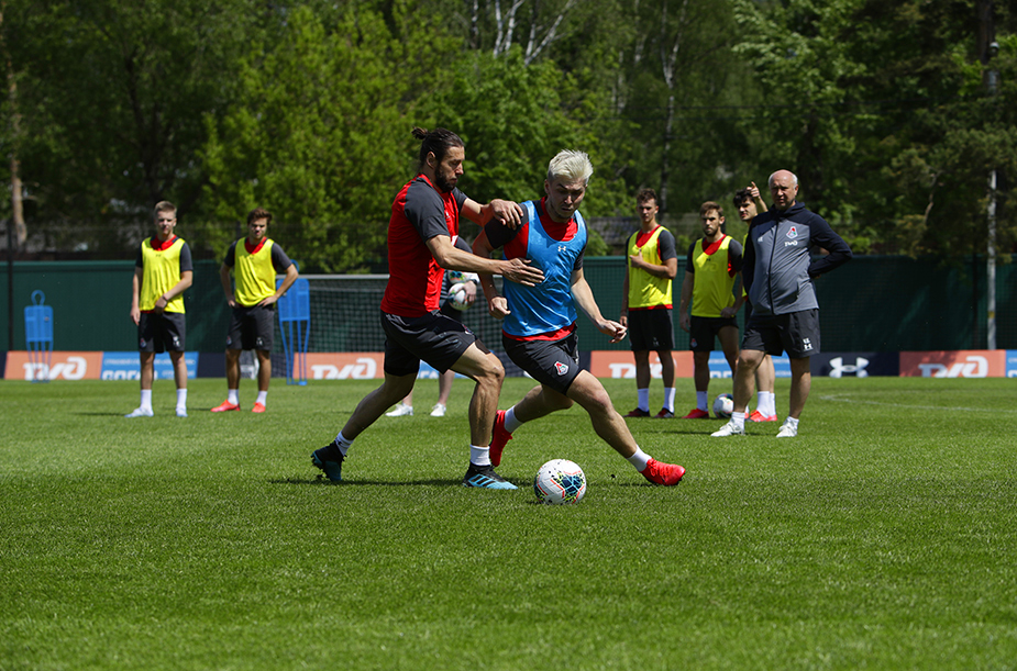 Training camp in Bakovka continues