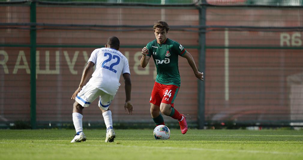 Lokomotiv Takes On Dynamo