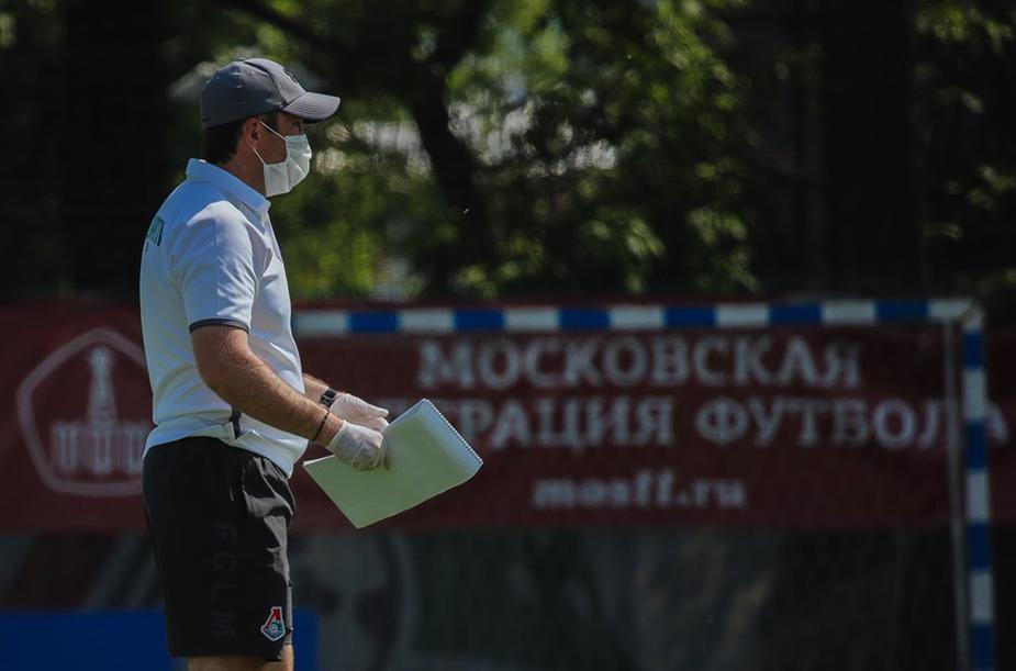 Молодежка тренируется в Черкизове