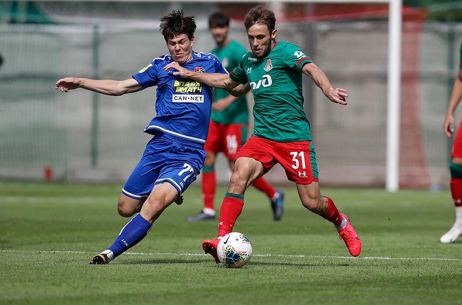 Lokomotiv - Tambov - 1:0. Lokomotiv - Kazanka - 1:1