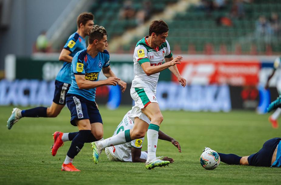Lokomotiv - Krylia Sovetov - 1:1