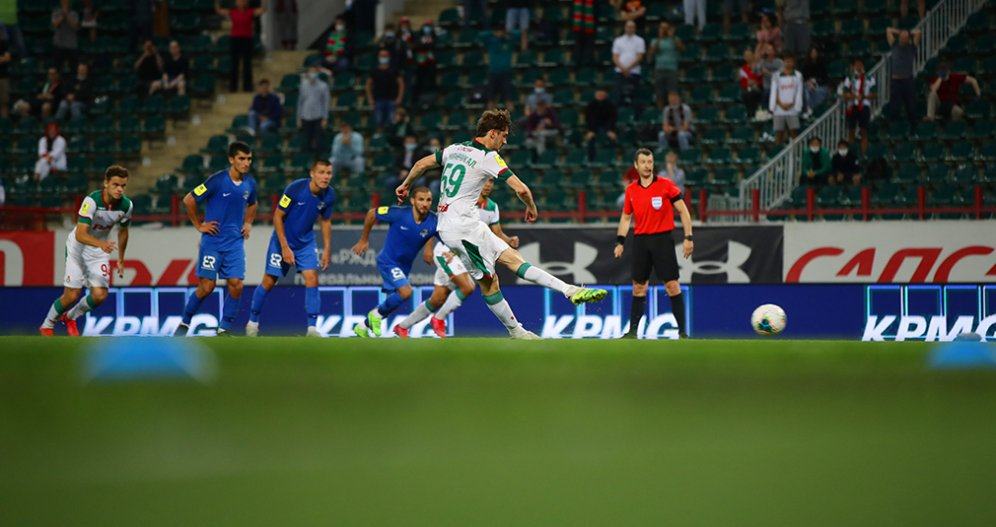 Two goals ruled out by VAR and missed penalty on 95th minute. Lokomotiv and Sochi played to a 0-0 draw.