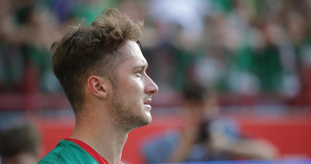 Anton Miranchuk makes his 100th appearance for Lokomotiv