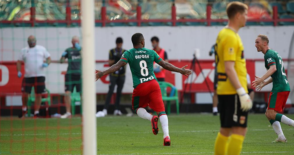 Farfan returned and scored. Lokomotiv and Ufa played to a 1-1 draw