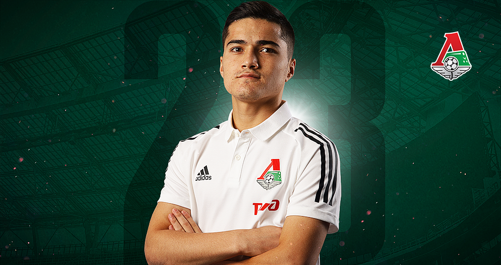 Jasurbek Jaloliddinov has joined Lokomotiv