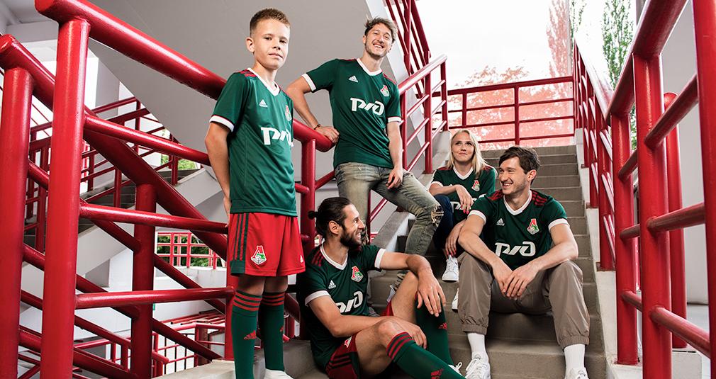 adidas presents a new Lokomotiv kit