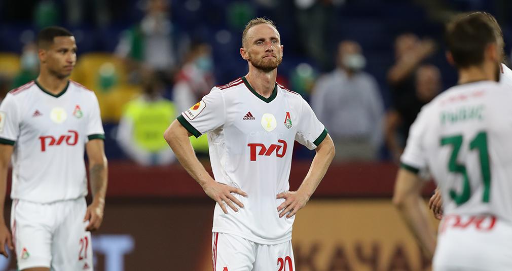 «Локомотив» уступил «Зениту» в матче за Суперкубок