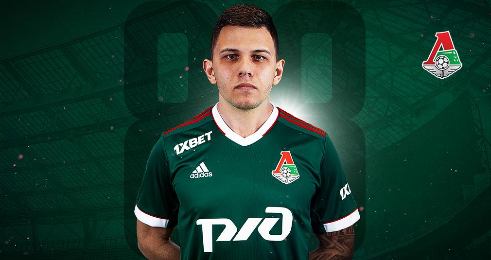 Виталий Лисакович перешел в «Локомотив»