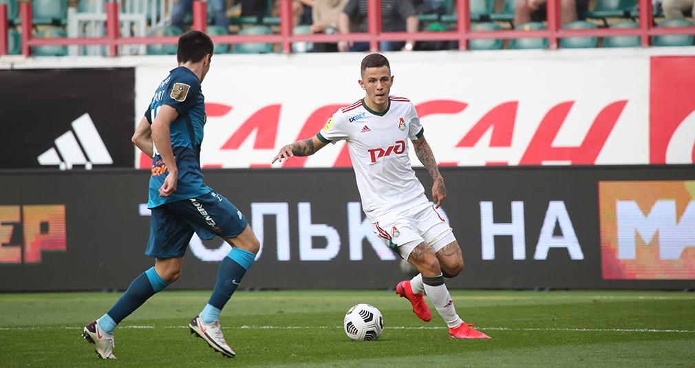 Lokomotiv and Zenit played to a 0-0 draw