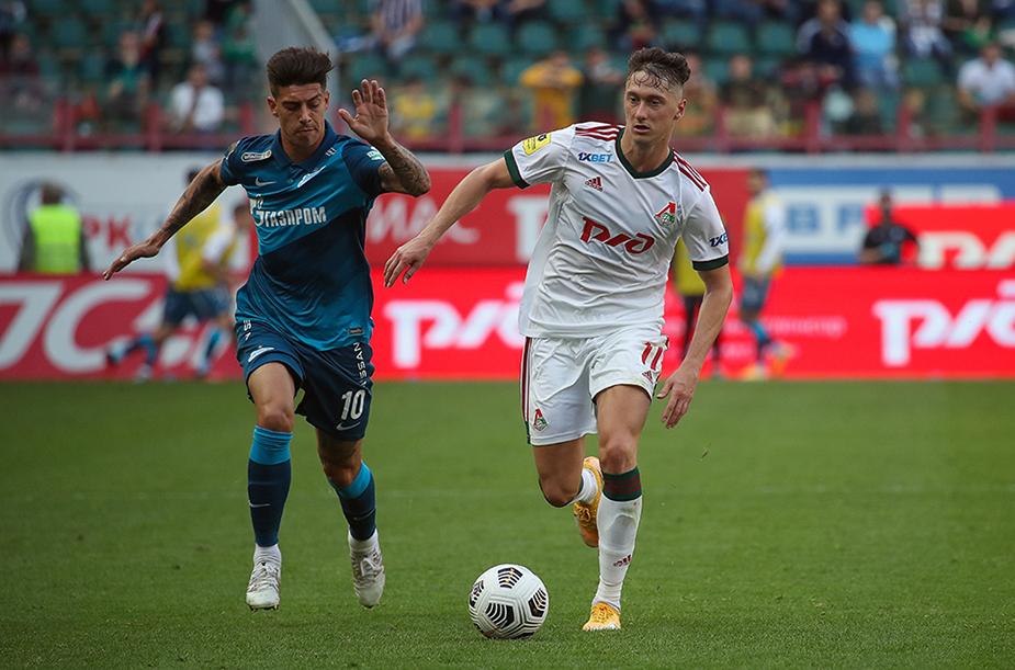 «Локомотив» - «Зенит» - 0:0