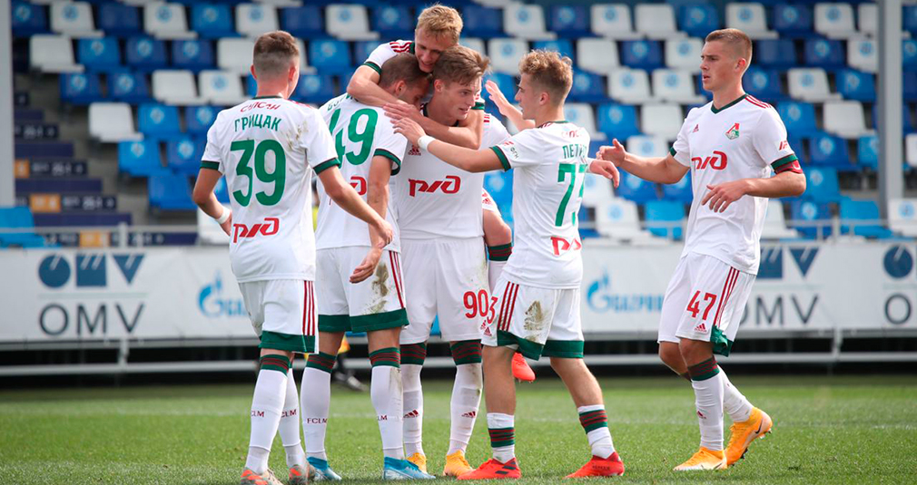 The youth team have beaten Zenit