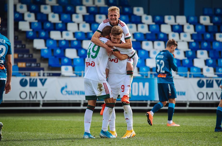 Zenit U-19 - Lokomotiv U-19 - 0:2
