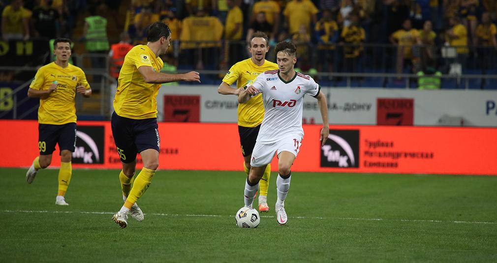 Lokomotiv and Rostov played to 0-0 draw