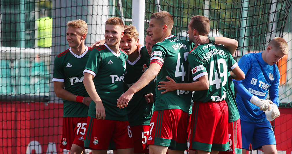 The youth team defeated Ural