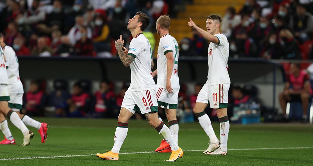 Smolov's goal brought Lokomotiv the victory over CSKA