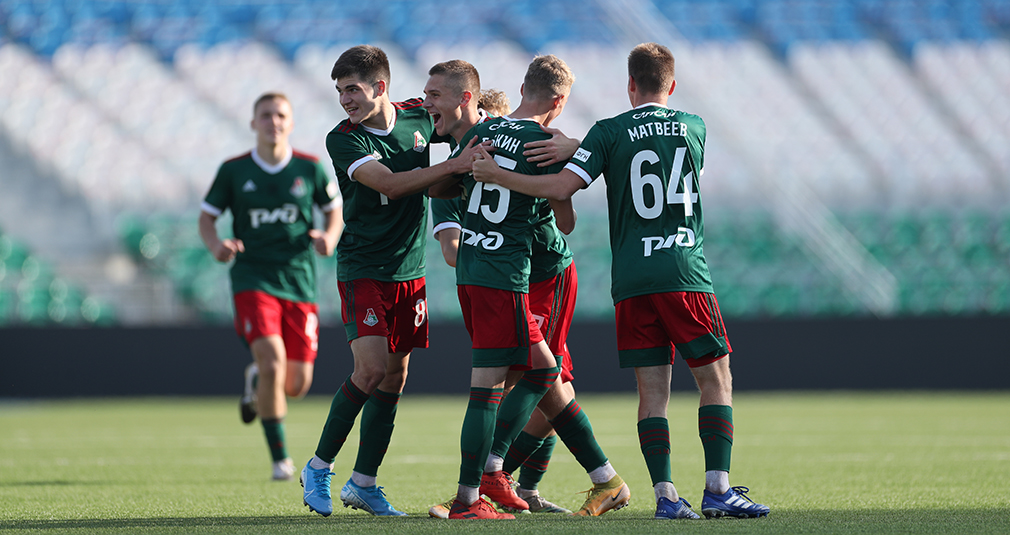 The youth team have beaten Ufa