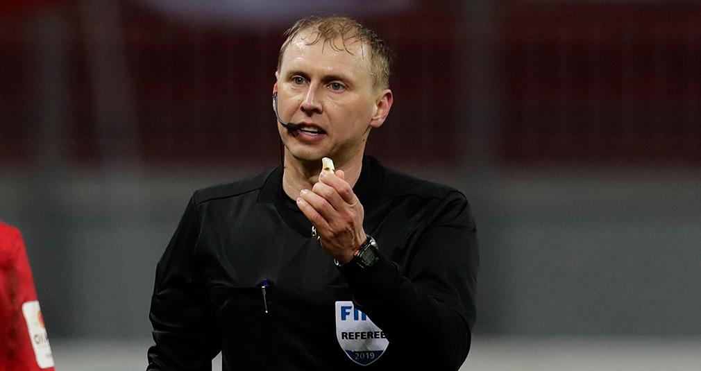 Сергей Иванов назначен на матч с «Ротором»