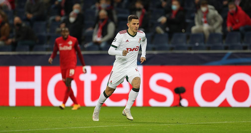 Лисакович: Забить гол в первом матче ЛЧ - это мечта!