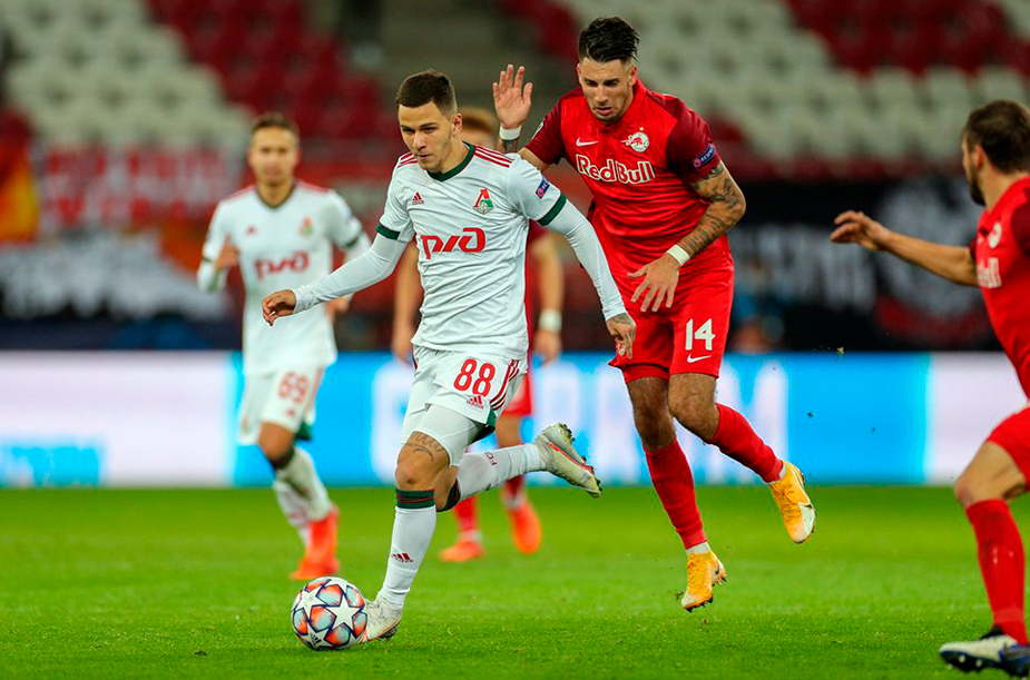 Salzburg - Lokomotiv - 2:2