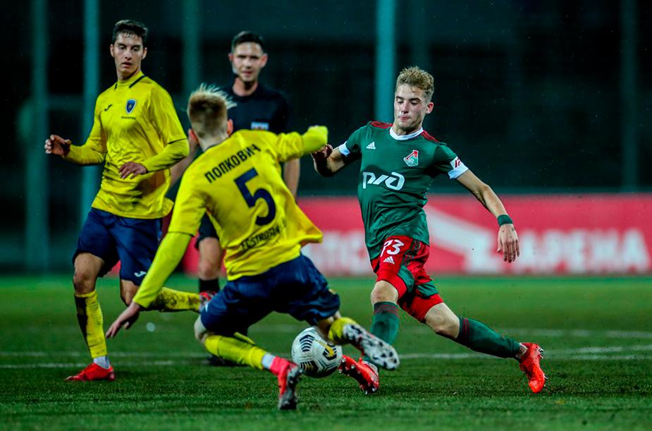 Lokomotiv U-19 - Strogino U-19 - 4:0